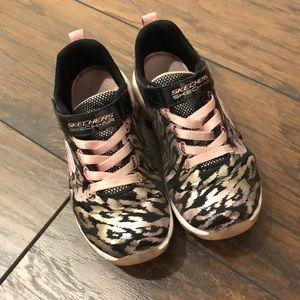 GUC Skechers Skech-Air pink/silver sneakers